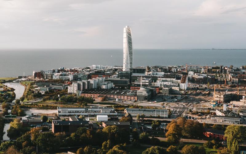 Vakantiehuis Zweden - Bezoek Malmö, Turning Torso