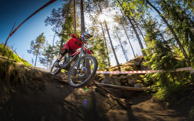 Vakantiehuis Zweden - mountainbiken in Värmland