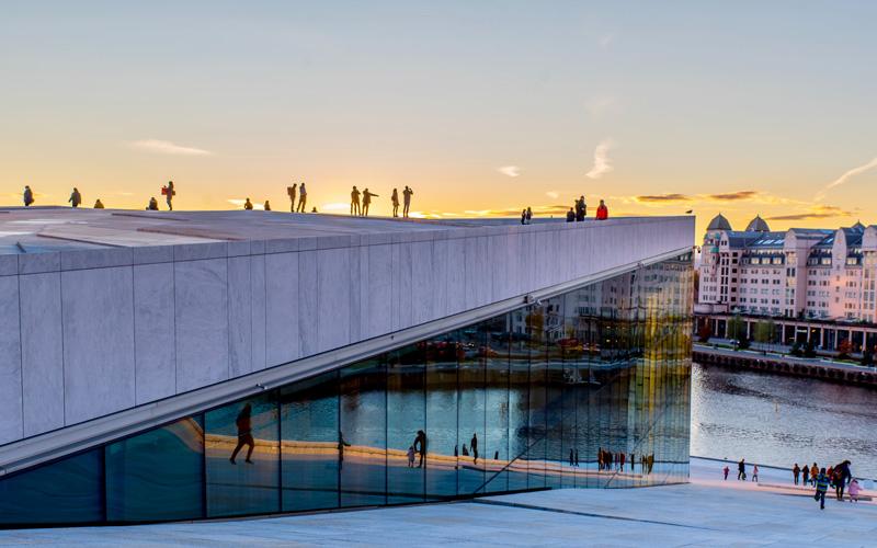 Vakantiehuis Zweden - Bezoek Oslo, opera