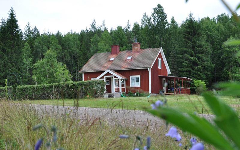 Vakantiehuis Zweden - Tjarntorp 10, Uddeholm, vanaf de straatkant